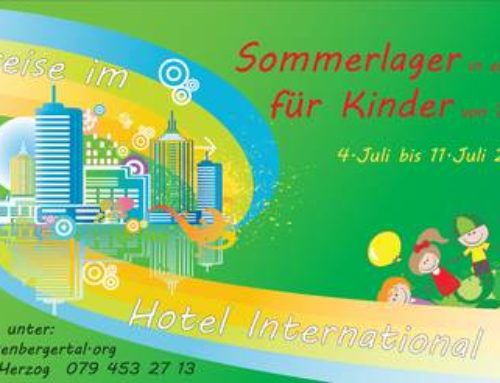 Sommerlager 2015 – Zeitreise im Hotel International